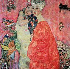 Klimt   Girl Friends, c.1916/17