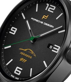 Porsche Design 1919 Datetimer Eternity One Millionth 911 Limited Edition Watch Watch Releases New Porsche, Limited Edition Watches, Porsche Design, One In A Million, Luxury Watches, Container, Design Inspiration, Clock, Tictac