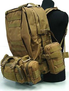CamelPack Tactical Molle Assault Backpack Coyote Brown