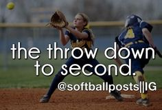 pitchers mound: there's no better seat on the field to watch the throw down to second Softball Drills, Fastpitch Softball, Softball Players, Lacrosse, Volleyball, Basketball, Softball Quotes, Girls Softball, Sport Quotes