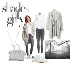 """""""Shades of Grey"""" by andthisisthereasonwhy on Polyvore featuring J Brand, Hunkydory, Kenneth Cole, Givenchy and adidas"""