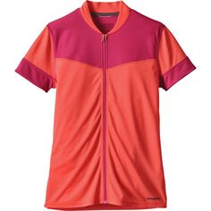 Patagonia Crank Craft Jersey Short-Sleeve Carve Coral XS