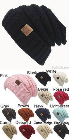 4e6d315e925 Women s Knit Beanie Hats Toasty Beanie Warm Wool Knit CC Hat for big sale!