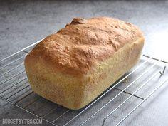 English Muffin Bread - BudgetBytes.com
