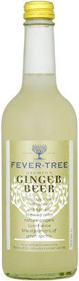 Fever Tree Ginger Beer Bottle