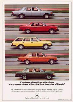 Mercedes Benz Diesel Advert