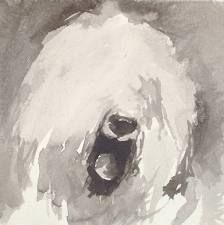 jean Haines watercolour old english sheepdog - Google Search