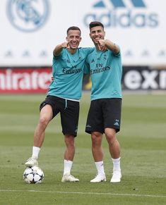 Real Madrid Players, Real Madrid Football, Soccer Guys, Football Players, Soccer Stuff, Lucas Vazquez, Real Madrid Photos, Ucl Final, Equipe Real Madrid