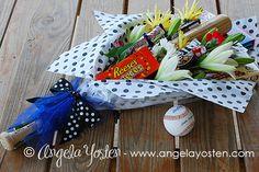 Angela Yosten: Baseball Coach Bouquet and Buckets Baseball Snacks, Baseball Buckets, Baseball Mom, Baseball Scoreboard, Baseball Stuff, Volleyball, Senior Softball, Softball Mom, Softball Party