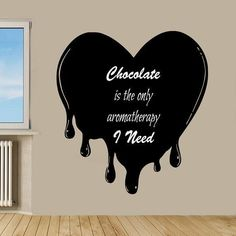Quotes Aromatherapy Love Kitchen Cafe Bar Home Decor Vinyl Art Wall Nursery Room Decor Sticker Decal size 22x22 Color