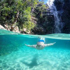 Cachoeira Santa Bárbara - Chapada dos Veadeiros
