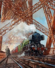 www.haveit.cz Fine Art Prints of Railway Scenes & Train Portraits - Spearmint,17