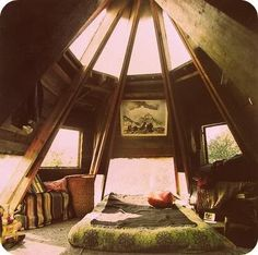 Cool Attic Room.