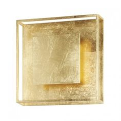 Yoko LED Wall Sconce in Gold Leaf