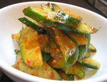Korean Cucumber Salad-Spicy