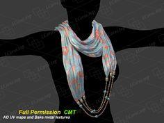 Textile necklace 4 Full Permission