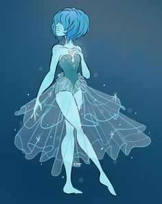 """distortingspacetime: """"Blue Diamond's Pearl"""""""