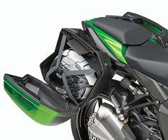 2017 Kawasaki Ninja 1000 trunk