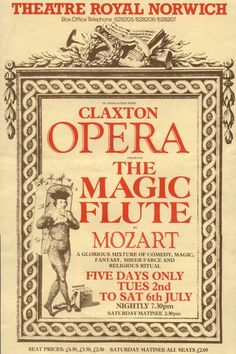 Claxton Opera -------------------------------------------------------------------------------- 2000 The Magic Flute Lyric Opera, Opera Music, Opera Singers, Music Classique, Mozart Effect, Classical Music Composers, Amadeus Mozart, The Magic Flute, Religious Rituals