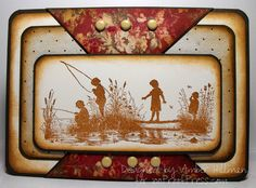 Vintage Fishing_ajh by bambi64 - Cards and Paper Crafts at Splitcoaststampers