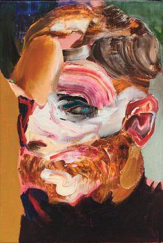 Adrian Ghenie (Romanian, b. Self-Portrait in Oil on canvas, 40 x cm. Art Inspo, Inspiration Art, Adrian Ghenie, Abstract Portrait, Self Portrait Art, Museum Of Contemporary Art, Modern Contemporary Art, Figurative Art, Painting & Drawing