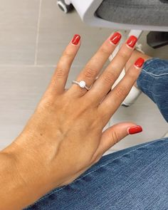 Cute Engagement Rings, Double Tap, Proposal, Fine Jewelry, Diamonds, Love You, Wedding Rings, Instagram, Te Amo