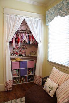 Organized kids closet , awesome kid closet organization ideas
