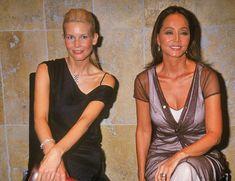 Isabel Preysler y Claudia Schiffer