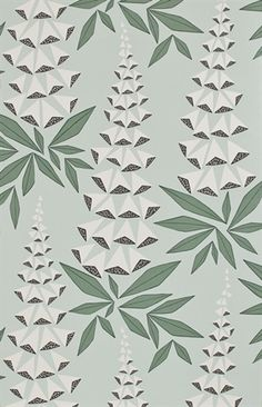 Shop Covered Wallpaper online for best selling designer wallpaper for your home. Wallpaper samples ship for free! Shop from home and have wallpaper delivered to your front door. Cover Wallpaper, Wallpaper Paste, Green Wallpaper, Wallpaper Online, Wallpaper Samples, Pattern Wallpaper, Retro Tapet, Curtains Uk, Green Pattern