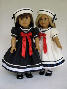 Sailor Suits and White Felt Hats