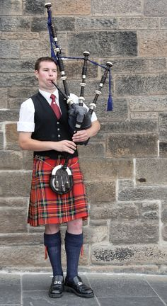 I'd love to learn how to play the instrument of my Irish ancestors, the bagpipes.