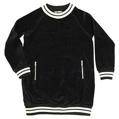 Sonia Velour Jacquard Sweater