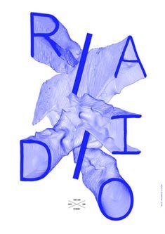 Les affiches typographiques de come de bouchony