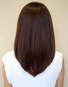 Bob Haircut For Fine Hair, Haircuts For Medium Hair, Bangs With Medium Hair, Medium Hair Cuts, Medium Hair Styles, Hairstyles Haircuts, Short Hair Styles, U Shaped Hair, Hair Upstyles