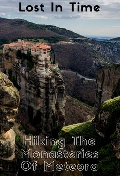 One of the best experiences you can do in Europe is hike to the beautiful monasteries of Meteora! Definitely check it out. #greece #travel #meteora