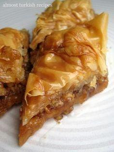 mother of god. i've finally found an easy baklava recipe.