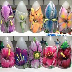 кашляева ногти цветы - Поиск в Google