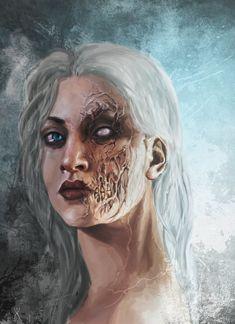 Hel by Ashiria on DeviantArt – Norse Mythology-Vikings-Tattoo Dnd Characters, Fantasy Characters, Female Characters, Dark Fantasy Art, Dark Art, Fantasy Inspiration, Character Inspiration, Character Portraits, Character Art