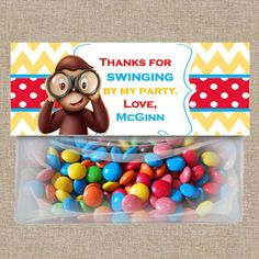 Go Bananas With a Curious George Party #CuriousGeorge #PartyIdeas #monkeys…