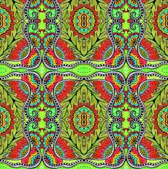 I *heart* peek fabric by chelmers on Spoonflower - custom fabric
