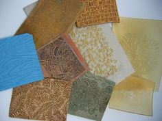 Learn to Make Texture Plates