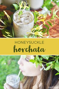 Lightened sweetened with Organic Coconut Sugar, this Honeysuckle Horchata beverage is just what this summer is calling for. Liquid Coconut Oil, Coconut Sugar, Summer Bbq, Summer Drinks, Hemp Seeds, Chia Seeds, Hemp Seed Recipes, Hemp Recipe, Hemp Protein