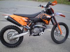 ktm 505 sx f My new sweet bike!!