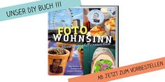 Unser erstes DIY Buch: Foto Wohnsinn