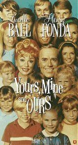 Yours, Mine & Ours - I think this was my first drive in movie with my family.  Of course I called the back of the station wagon!