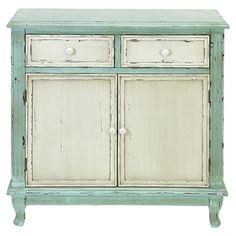 Pretty Mint Cabinet