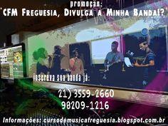 Promoção: CFM Freguesia, Divulga a Minha Banda! | CFM Freguesia Estudio e Curso de Música