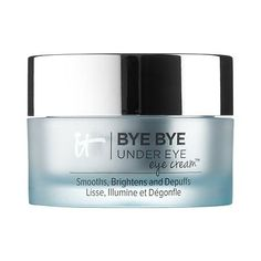 Bye Bye Under Eye Eye Cream™ Smooths, Brightens, Depuffs - IT Cosmetics | An intensive, antiaging eye cream designed to instantly brighten and reduce the appearance of dark circles, puffiness, fine lines, and wrinkles.