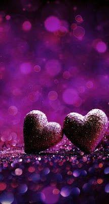 Purple Wallpaper For Iphone Heart Wallpaper Wallpaper Iphone Love Valentines Wallpaper