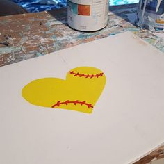 Working on some custom orders. I cant wait until this beautiful softball sign is finished. . . . #workinprogress #softballsign #softballlove #softballswag #EtsySeller #etsylove #creativehappylife #painting #etsyoninstagram #custom #woodsign #homedecor #makersgonnamake